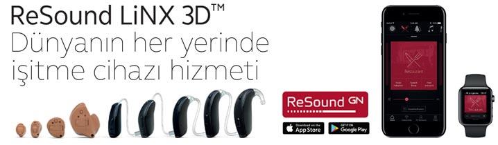 LiNX 3D akıllı işitme cihazı